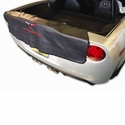 Corvette Embroidered Rear Bumper Apron/Bib : 2005-2013 C6