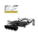 Corvette Exhaust Magnaflow Axle-Back Performance Series - Non NPP - Black : C7 Stingray, Z51