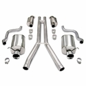 "Corvette Exhaust System - Corsa Touring Dual 4.0"" Tips : 2009-2013 C6"
