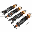 Corvette Featherlight Single Adjustable Street/Track Coilover System - aFe - 1997-2013 C5/C6