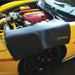 Corvette Fender Mat with C6 Jake Skull Logo & Corvette Racing Script