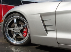 Corvette Fender Spears - Billet Chrome 6 Pc. (05-13 C6)
