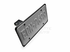 Corvette Flip Down License Plate Holder - Manual : C5 / C6