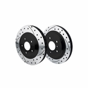 Corvette Front and Rear Rotor Kit - Promatrix : 1997-2013 C5/C6 Non-Z51