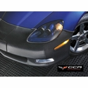 Corvette Front Bra - GM Custom Fit with C6 Emblem (10-13 C6 Grand Sport)