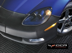 Corvette Front Bra - GM Custom Fit with Z06 505HP Emblem (06-13 C6 Z06)