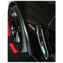 Corvette Front Fender Extensions/Splash Guards : 2006-2013 Z06, ZR1, Grand Sport
