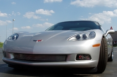 Corvette Front Grille - Billet Aluminum Polished (05-13 C6)