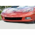 Corvette Front Grille - Retro Syle - Black Stainless Steel : 2005-2013 C6