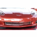 Corvette Front Lower Grille - Laser Mesh Stainless Steel : 2005-2013 Z06, Grand Sport & ZR1