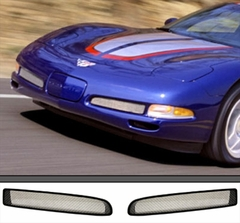 Corvette Front Z06 Grille 2 Pc. (Set) : 1997-2004 C5