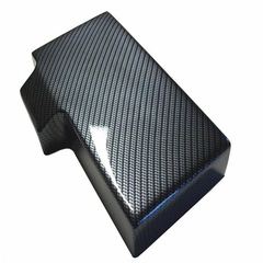 Corvette Fuse Box Cover - Carbon Fiber Look : 2005-2013 C6, Z06, ZR1 & Grand Sport