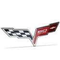 Corvette GM Rear Deck Lid 60th Anniversary Emblem : 2005-2013 C6