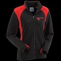 Corvette Grand Sport Jacket Ladies Hex Sport Bonded - Black/Red : 2010-2013