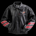 Corvette Grand Sport Leather Jacket - Black 2010-2013 GS