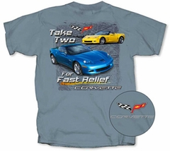 "Corvette Grand Sport ""Take Two for fast Relief"" T-Shirt - Men's"