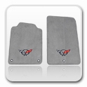 Corvette Gray & Graphite Floor Mats