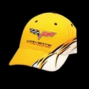 Corvette Hat - C6 Racing Logo Yellow : 2005-2013
