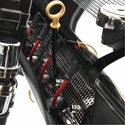 Corvette Header Guards - �Performance Style� Perforated Stainless Steel : 2008-2013 C6