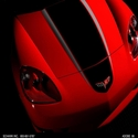 Corvette Hood Graphics / Stripe Kit : 2005-2013 C6