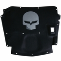 Corvette Hood Liner with Jake Skull Emblem : 2005-2013 C6