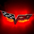 Corvette Illuminated LED Rear Emblem - ORACLE� : 2005-2013 C6, Z06, ZR1, Grand Sport