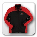 Corvette Jackets & Sweatshirts -  corvette-sweatshirt-nothing-but-corvette-hoodie-embroidered-black