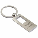 Corvette Key Chain - Rectangle Style w/ C6 Emblem (05-12 C6)