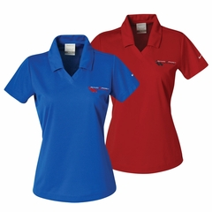 Corvette Ladies - Embroidered Grand Sport Logo - Nike Dri-fit Polo