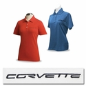 Corvette Ladies - Embroidered Script - Cutter & Buck� Polo