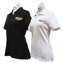 Corvette Ladies Polo - 60th Anniversary Embroidered - Cutter & Buck Ace Polo