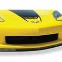 Corvette Lower Front Grille - Billet Aluminum Powder Coated Black : 2006-2013 Z06 & Grand Sport