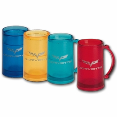 Corvette Mug - Frozen Ice with C6 logo (05-12 C6)