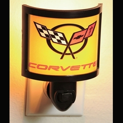 Corvette Night Light with C5 Logo (97-04 C5)