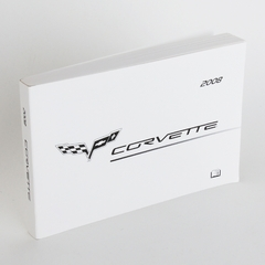 Corvette Owner's Manual GM (2008 C6 / C6 Z06)