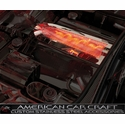 Corvette Plenum Cover Low Profile - Perforated Stainless Steel (Illuminated) : 1999-2004 C5 & Z06