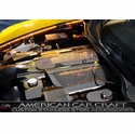 Corvette Plenum Cover Low Profile - Perforated Stainless Steel (Illuminated) : 2005-2013 C6 & 2010-2013 Grand Sport