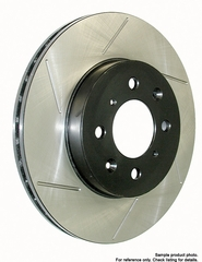 Corvette Powerslot Rotors - Front Left (05-13 C6)