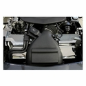 Corvette Radiator Cover - Perforated Stainless Steel 2 Pc. : 2009-2013 ZR1