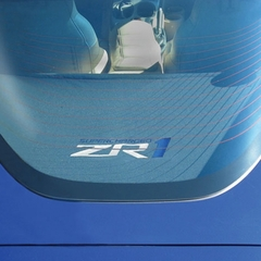 Corvette Rear Cargo Shade : 2009-2013 C6 ZR1