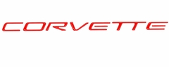 Corvette Rear Insert Letters- Red (97-04 C5/Z06)