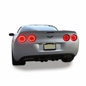 Corvette Rear Spoiler - ZR1 Extended Version : 2005-2013 C6, Z06, Grand Sport, ZR1