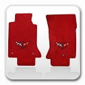 Corvette Red Floor Mats