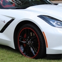 Corvette RimBlades Scuffs - Outer Rim Protection and Accent Trim