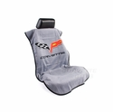 Corvette Seat Armor Protective Cover - Grey Pair (05-13 C6, Grand Sport, Z06, ZR1)