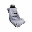 Corvette Seat Armor Protective Cover - Grey Pair (84-96 C4)