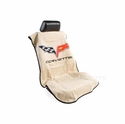 Corvette Seat Armor Protective Cover - Tan Pair (05-13 C6, Grand Sport, Z06, ZR1)