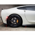 Corvette Sentinel Side Foils and Rear Winglets - Carbon Fiber : C7 Stingray
