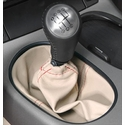 Corvette Shift Boot Six Speed Custom Leather - : 2005-2013 C6, Z06,ZR1,Grand Sport