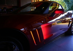 Corvette Side Cove LED Lighting Kit with (4) function Remote : 2010-2013 Grand Sport only